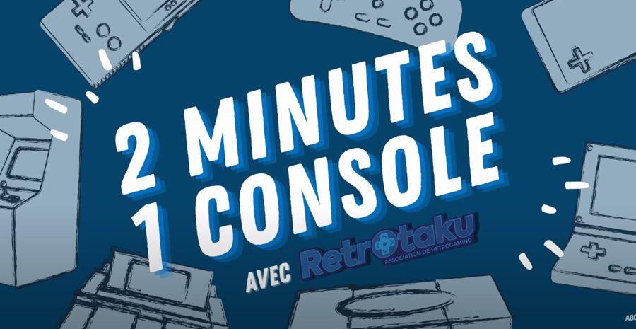 On révise ses classiques avec l'émission 2 Minutes, 1 console