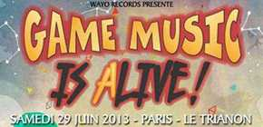 Le concert Game Music is alive !
