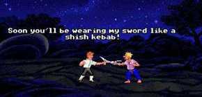 Monkey Island - duel d'insultes en ligne