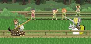 Pixelry - RPG 8 bits axé sur la joute médiévale
