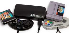 Retrode 2 - adaptateur SNES et Megadrive