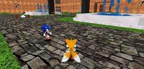 Sonic en 3D - Eddy Zykov le seigneur des anneaux