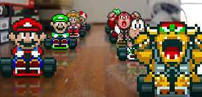 Super Mario Kart en mode IRL