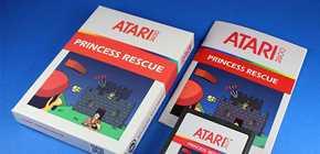 Princess Rescue - Super Mario Bros sur Atari 2600