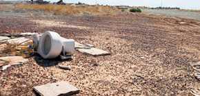 La profanation du cimetière d'Atari à Alamogordo
