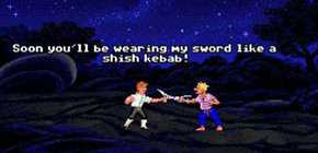 Monkey Island - duel d'insultes