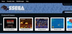 SSEGA.com un site pour jouer à la Megadrive dans le navigateur