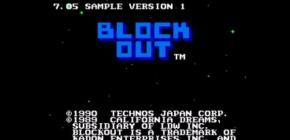 La rom du prototype de Block Out sur Nes déboule !