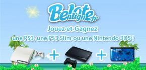 Concours une Ps3 Slim Blanche, une PS3 Ultra Slim ou une Nintendo 3DS à gagner !