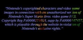 Nintendo a eu la peau de Full Screen Mario