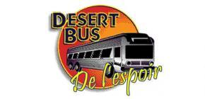 JMJV - Desert Bus de l'espoir