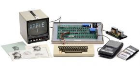 246 000 euros : l'Apple 1 a toujours la cote !