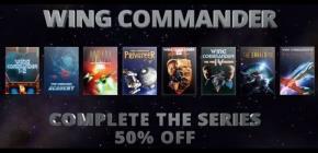 Wing Commander - la série complète à moitié prix chez Gog !
