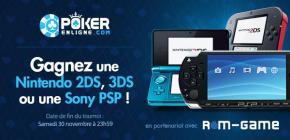 Concours - Gagnez une Nintendo 2Ds, une 3Ds ou une Sony PSP au choix