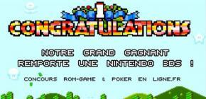 Grand concours - qui a gagné sa console ?