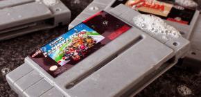 SNES Soap - Toujours propre avec le savon Super Nintendo !