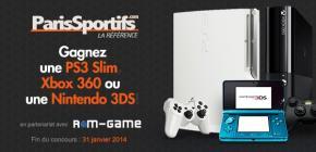 Concours - Gagnez une Ps3 Slim Blanche, une Xbox 360 Slim ou une Nintendo 3DS !