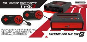 Super Retro Trio - SNES, NES et Megadrive dans une seule console