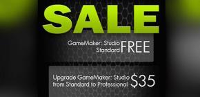 GameMaker Studio Standard est gratuit jusqu'au 2 mars ! Gra-tuit !