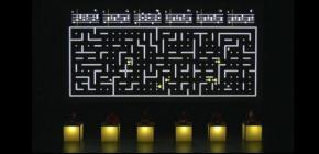 Six Pacmen - Pacman rencontre Steve Reich dans une symphonie