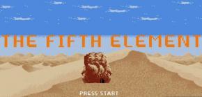 Le Cinquième Elément 8 bits - le jeu retro du film de Luc Besson