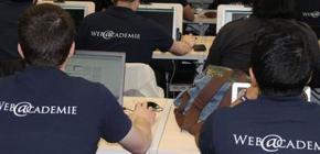 Web@cadémie - formation de jeunes en difficulté dans les métiers du web