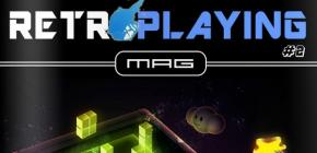 Retro Playing Le Mag numéro 2 est de sortie aujourd'hui