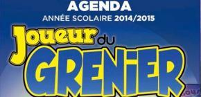 Préparez (déjà) votre rentrée scolaire 2014 avec un agenda Joueur du Grenier