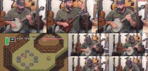 Zelda A Link to the Past au banjo par le vieux routard Banjo Guy Ollie