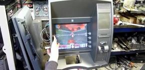 Doom jouable sur un distributeur de billets