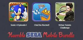 Humble Bundle - faites le plein de jeux Sega sur Android