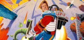 Jim Power - le plus beau scrolling de l'univers revient sur Megadrive