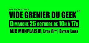 La brocante Vide-Grenier du Geek reprend ses quartiers d'automne à Lyon
