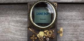 Steampunk Game Boy - la révolution industrielle pour Nintendo
