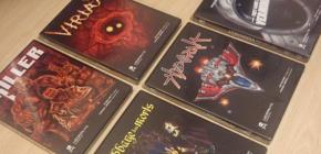 Les jeux de Locomalito disponibles en version boîte
