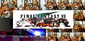 Reprise Final Fantasy VII - Battle Theme au banjo