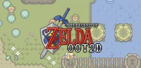 Zelda Ocarina of Time en 2D - le demake incroyable