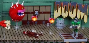 Ingenio Lego - quand Doom passe des pixels aux briques danoises