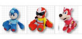 Une peluche officielle pour Megaman - changez de doudou !
