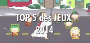 Top 5 des jeux de 2014 (pour l'instant)