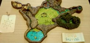 Zelda Ocarina of Time - une magnifique maquette modélise le royaume d'Hyrule en 3D