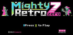 Mighty Retro Zero - un spectaculaire feu d'artifice en 8 couleurs
