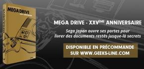 Sega Mega Drive XXVème anniversaire - un livre sublime et en français !