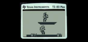 Super Smash Bros se porte bien sur calculatrice Texas Instruments TI-83