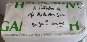 Game Cash offre une console et Assassin's Creed à Mélenchon