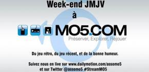 L'association MO5.com en live pour les Journées Mondiales du Jeu Vidéo