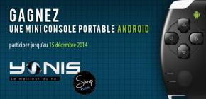 Gagnez une mini console portable Android