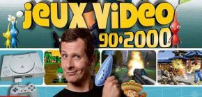 Nos jeux vidéo 90-2000 - un livre pour les p'tizamis de Marcus