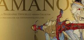 La biographie d'Amano par Florent Gorges chez Pix'n Love
