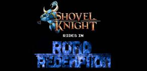 Crossover Road Redemption Shovel Knight - la pelle de la route
